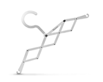 Pliable coat-hanger